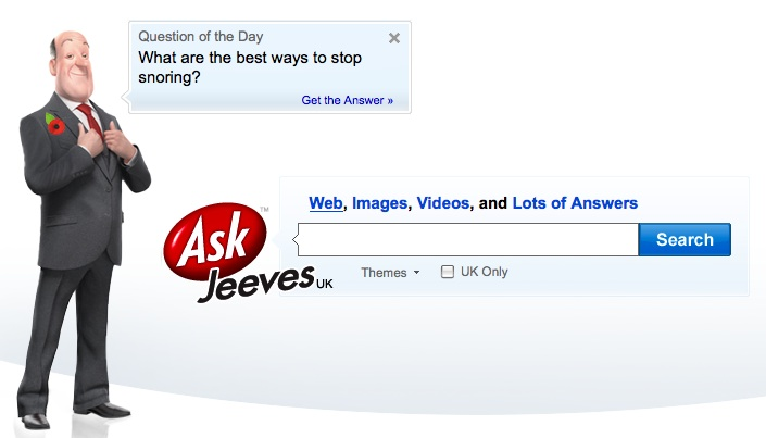 Ask jeeves adult
